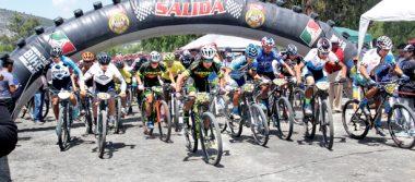Singuilucan recibe a ciclistas del MTB