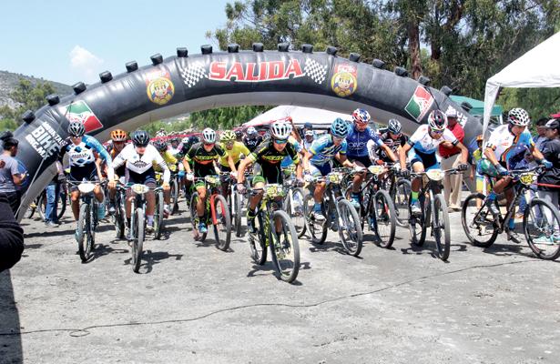 La Gaspareña, sede de la competencia ciclistas dominical. / Foto: Especial.