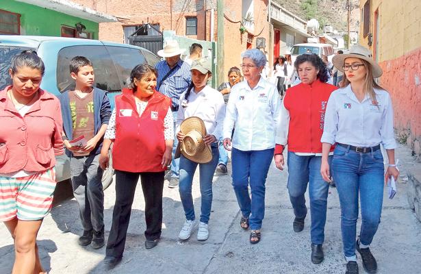 Atención, abasto e infraestructura médica: Paquita Ramírez