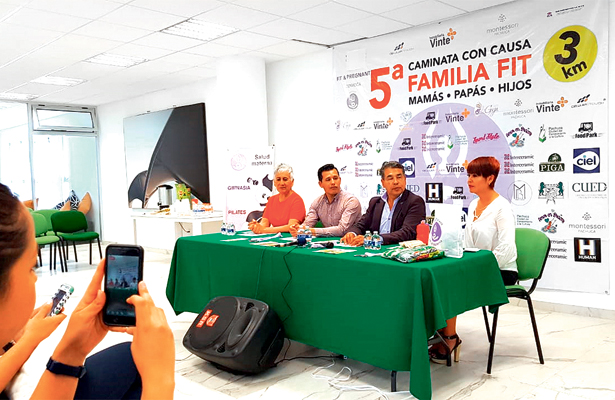 Invitan a carrera familiar con causa en Tornacuxtla