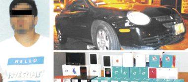Detienen a uno de tres asaltantes, tras  robo a tienda de telefonía en Pachuca