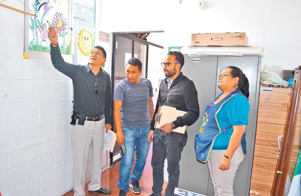 Realiza dictámenes de seguridad estructuran en CAIC´s de Pachuca