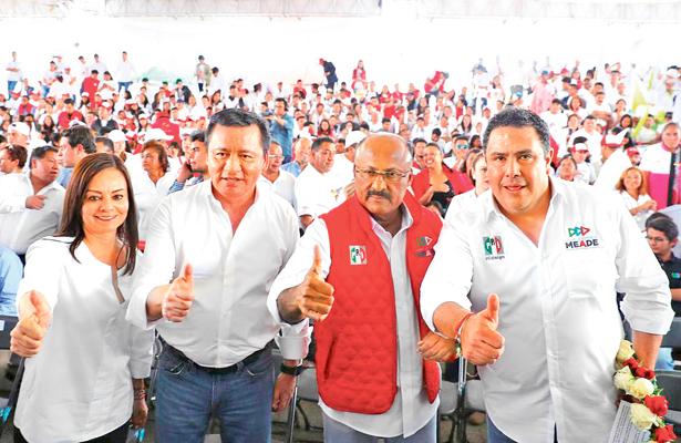 Osorio y yo trabajamos para que Meade sea presidente: René