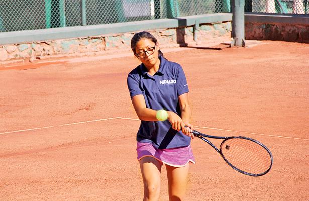Los integrantes del equipo de tenis de Hidalgo están en semifinales. / Foto: Especial.