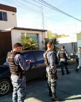 Presencia De Un Sujeto En Azotea De Una Vivienda Moviliza A La Policía