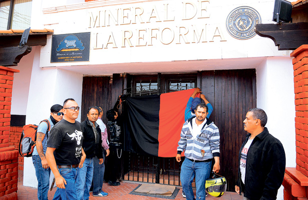 Estalla huelga en Mineral de la Reforma