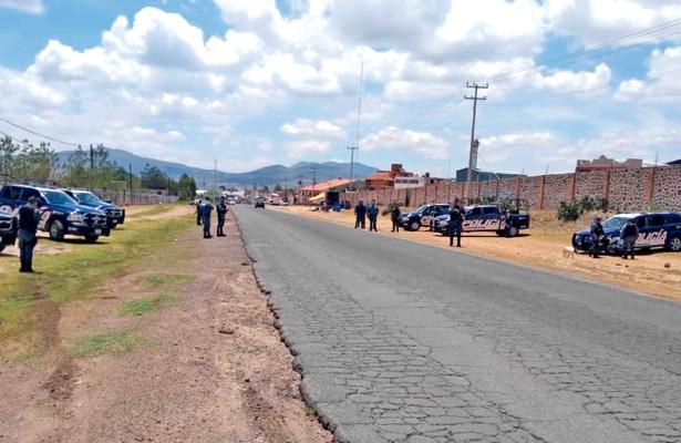 Operativos tras huachicol y autos robados