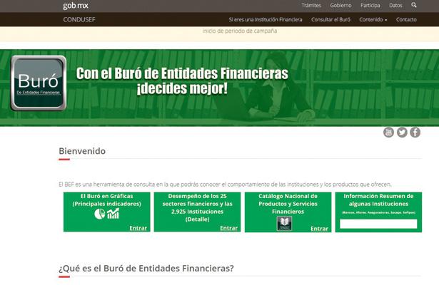 Lista negra de bancos solo existe en México