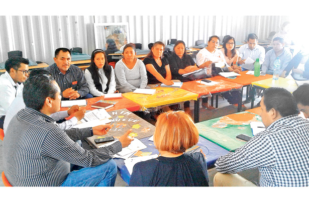 Primera Reunión Interinstitucional  con jornaleros agrícolas migrantes
