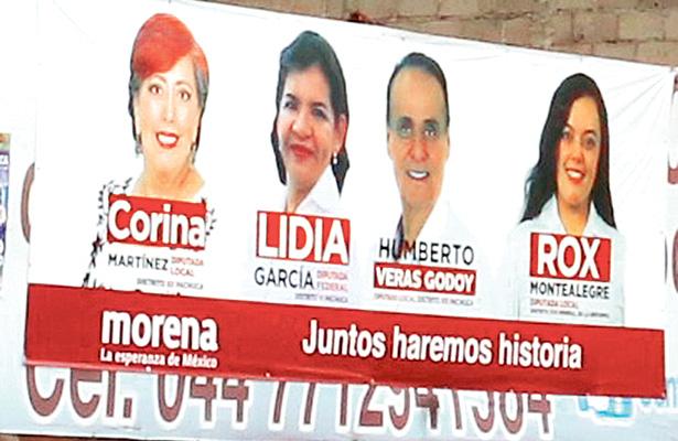 Morena debe retirar propaganda con imagen de López Obrador