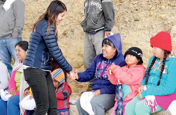 La guerra sucia no nos detiene: Lupita Cruz