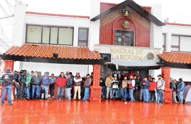 Sin voluntad el Ayuntamiento de Mineral de la Reforma para solucionar la huelga