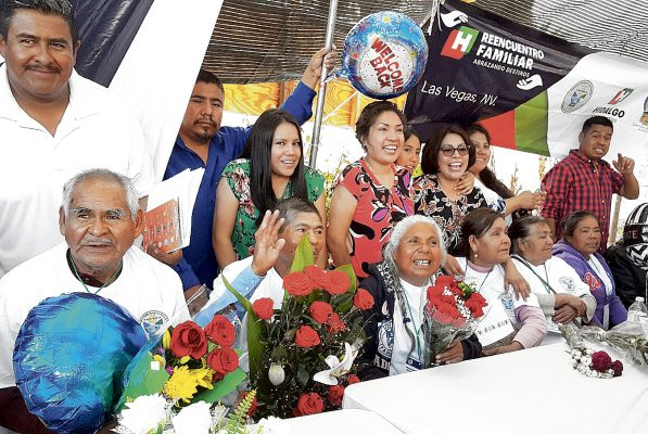 En Hidalgo van 146 reencuentros de migrantes