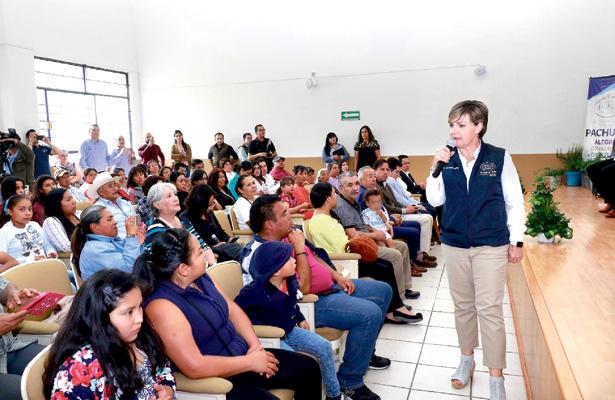 Fomenta gobierno de Pachuca consumo de alimentos saludables