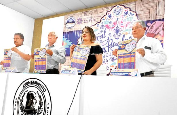 Presentan Festival de Las Culturas Rurales