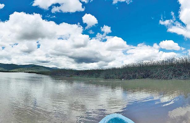 Dan mantenimiento a brechas en la Laguna de Tecocomulco