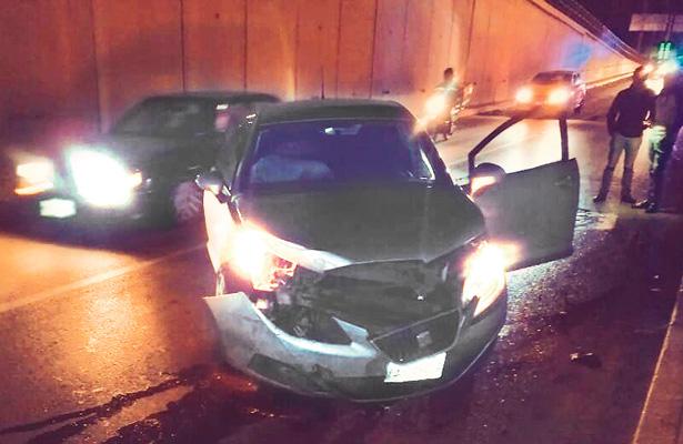 Conductor pestañeó en el Túnel Independencia