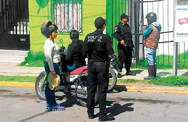 Mediante operativo, aseguran cinco motocicletas en Pachuca