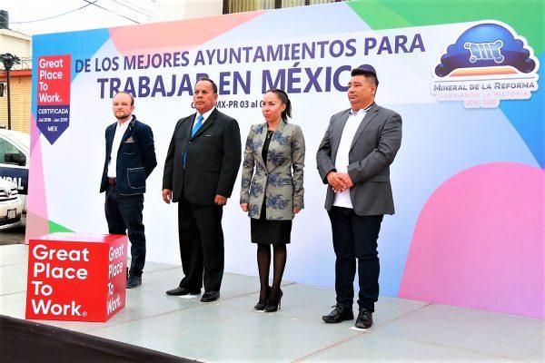 Recibe Mineral de la Reforma  certificación internacional