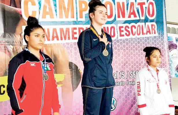 Plata de Martínez en panamericano U15