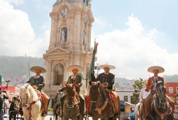 En el Día del Charro, tradicional desfile