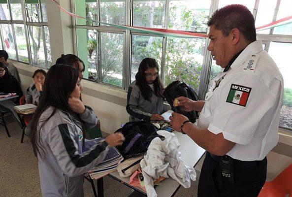 Implementan operación mochila para prevenir delitos