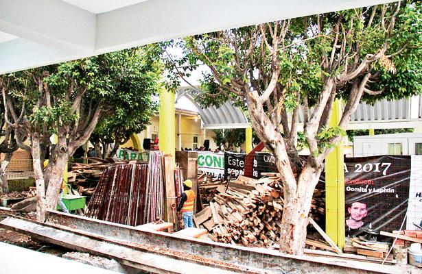 Avanza reconstrucción de escuelas afectadas por sismo