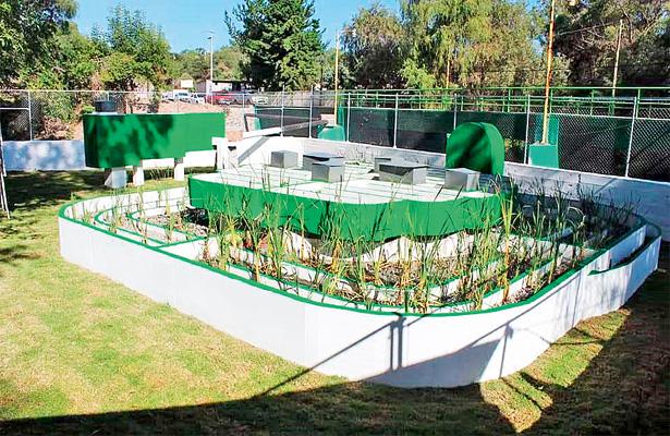 Estrenan planta de tratamiento en Chapantongo