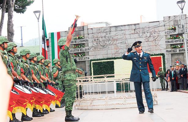 Conmemoran gesta heroica ocurrida en Chapultepec