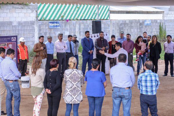 Inicia edificación de jardín de niños en Los Encinos