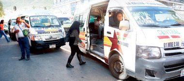 Todas las unidades de transporte público deben contar con seguro de vida