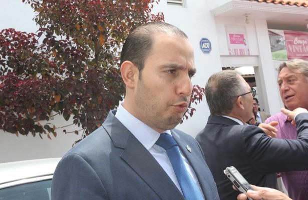 Marko Cortés: vine por firmas panistas para registrarme