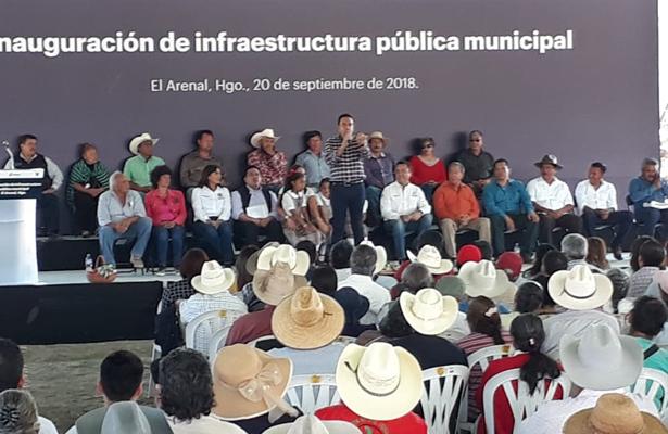 [Video] Omar Fayad inaugura obra pública en El Arenal