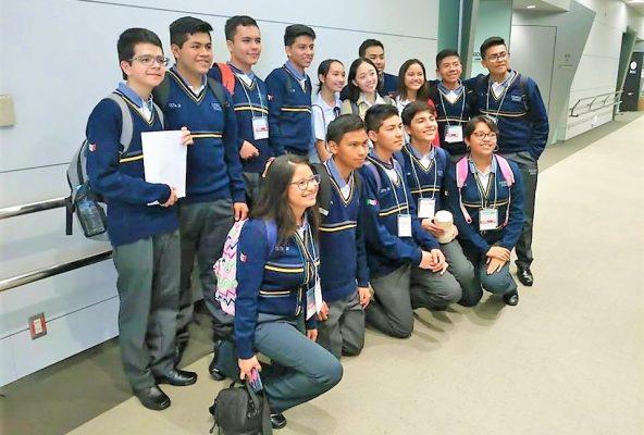 Ganan concurso de robotica en Japon alumnos del CETIS fray diego de Rodriguez