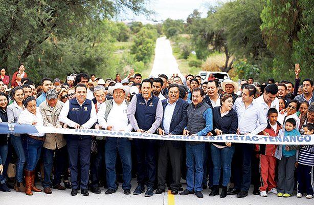 Millonaria inversión para región de Tezontepec de Aldama: Fayad