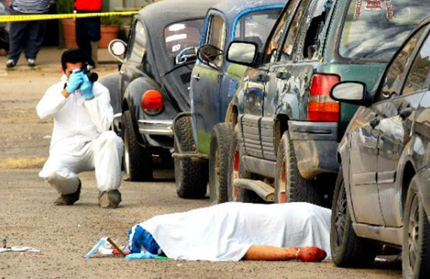 Incrementa violencia en Sinaloa