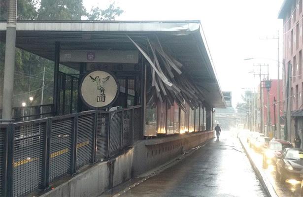 Reanudan servicio en la estación Iztacalco del Metrobús