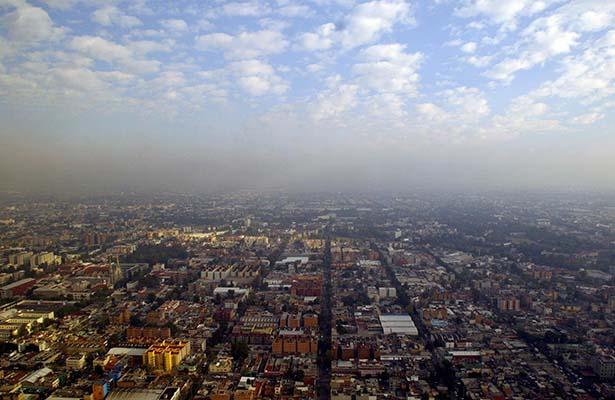 El Valle de México presenta mala calidad del aire