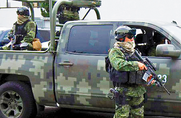 Analizará BC aumento de soldados en las calles