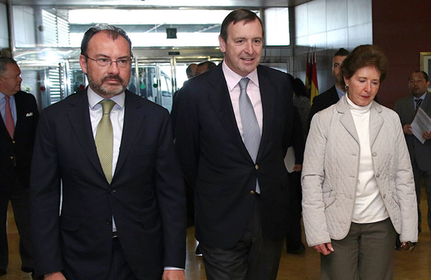 Realiza Luis Videgaray visita de trabajo en España