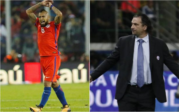 Arturo Vidal y Pizzi renuncian a la selección chilena tras eliminación de Rusia 2018