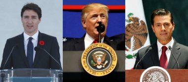 Trump amenaza de nuevo: saldrá del TLCAN si no hay trato justo con México y Canadá