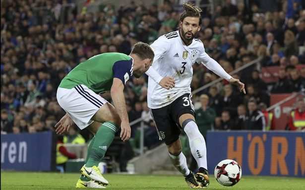 Alemania perfila su corona y clasifica para el Mundial Rusia 2018