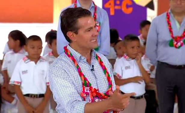 Quien rechace Reforma Educativa está en contra de México: Peña Nieto