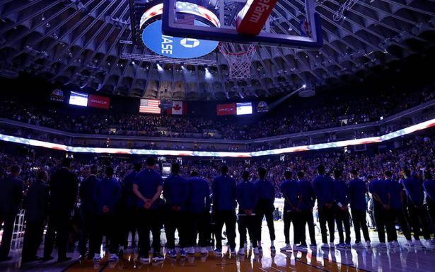 Warriors deciden no protestar contra Trump durante Himno Nacional