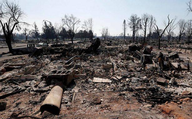 Suben a 31 los muertos por los incendios al norte de California
