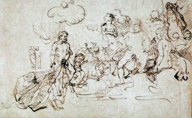Dibujos geniales: de Leonardo Da Vinci a Rembrandt