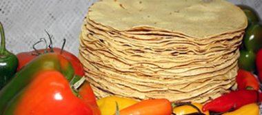 Tortilla, hasta 18 pesos el kilo