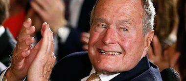 Dan de alta a George Bush padre tras ser ingresado por neumonía