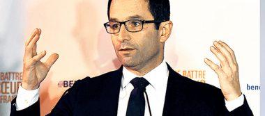 Benoît Hamon, virtual candidato del Partido Socialista en Francia
